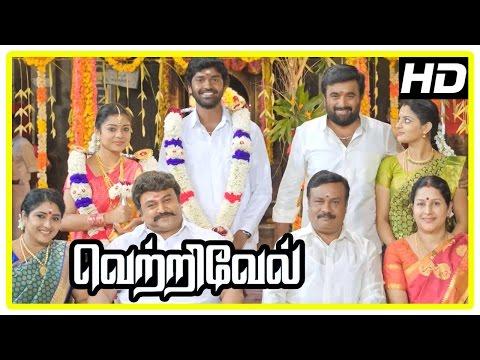 Vetrivel tamil movie | climax scene | Ananth marries Varsha | Sasikumar | End Credits