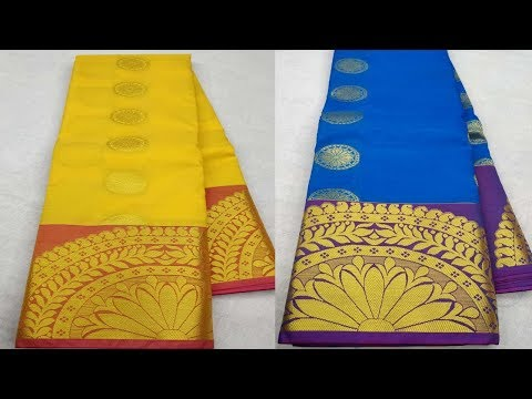 New arrival kanchipuram art silk saree collections with price