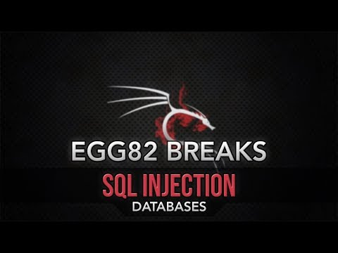 Breaking Databases - SQL Injection