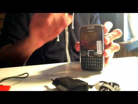 Распаковка телефона nokia E72 с AliExpress
