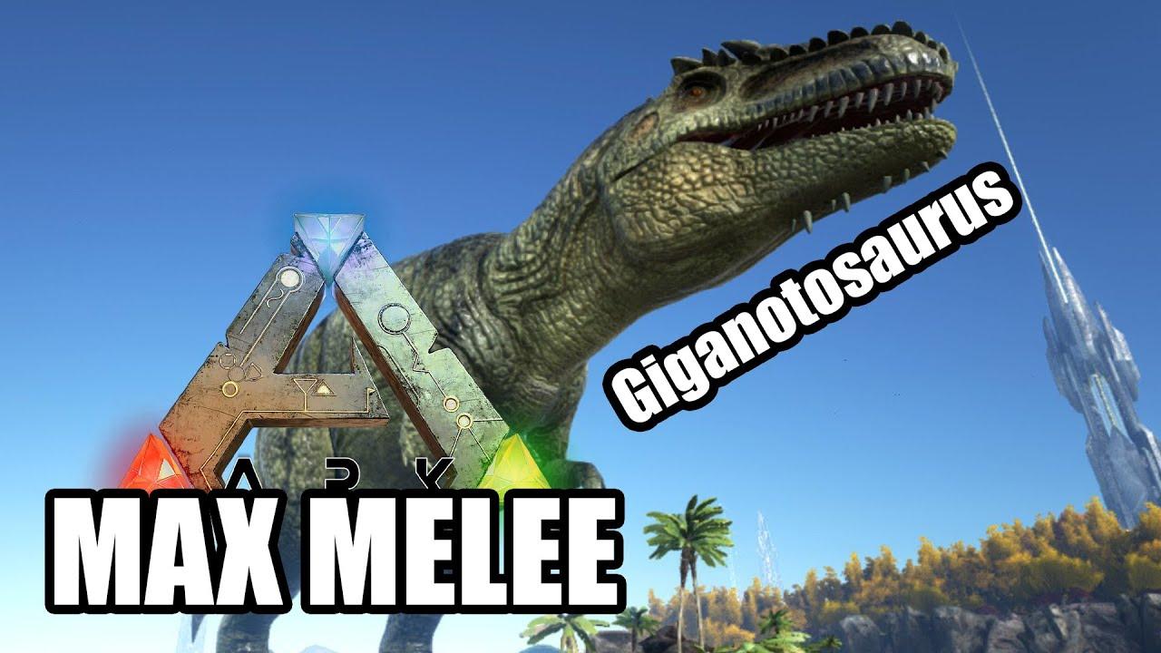 Ro ark max melee giganotosaurus hd youtube ro ark max melee giganotosaurus hd malvernweather Choice Image