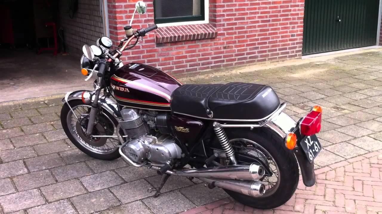 Honda Cb 750 K7 1977 Youtube