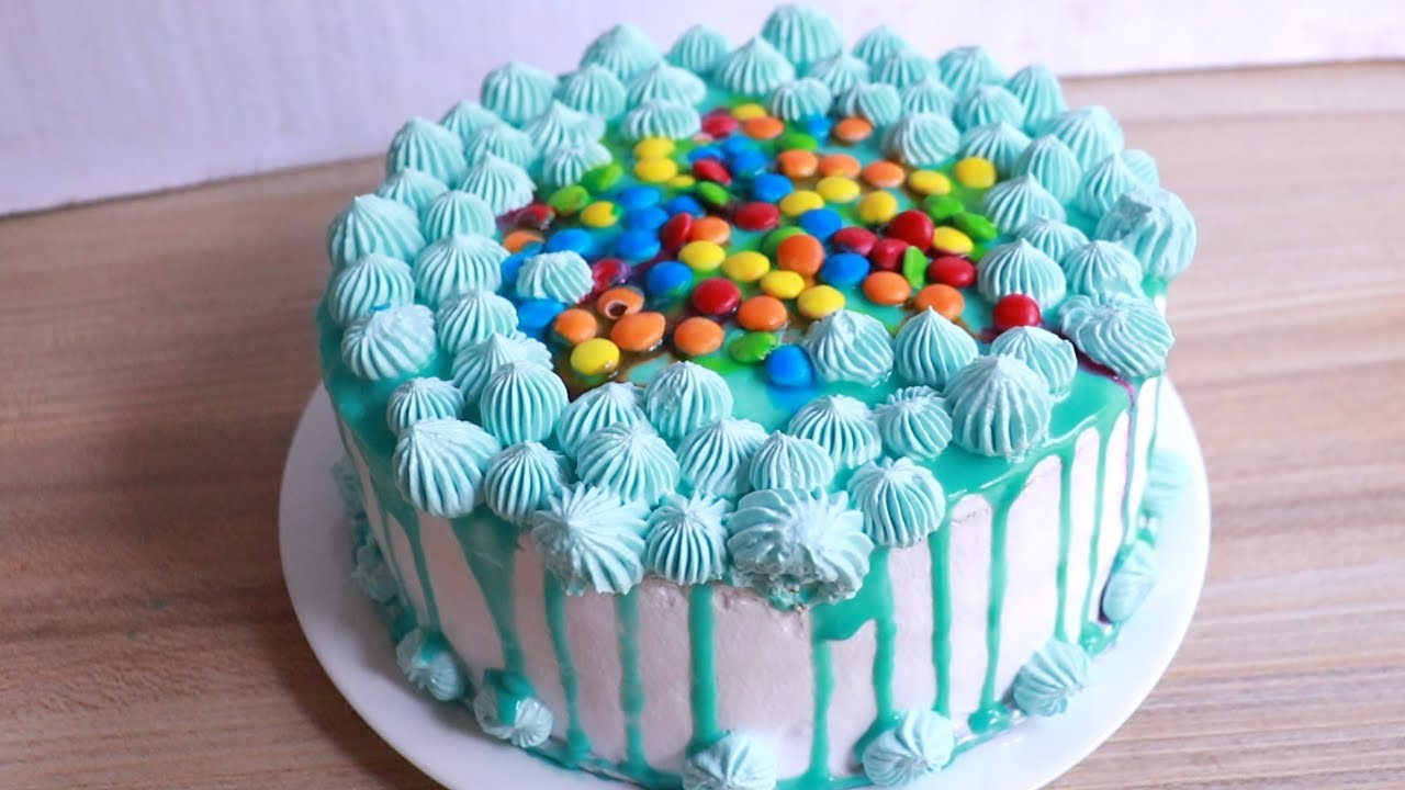 Surprise Inside Birthday Cake For Kids Easy Birthday Cake Idea By Food Variety Youtube