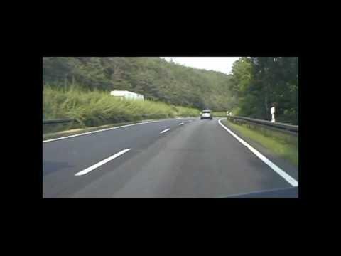 BAB 4 Eisenach Ost   Waltershausen über den Hörselberg