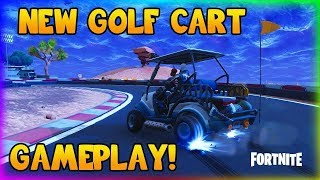 "NEW ""GOLF CART"" BUGGY GAMEPLAY (FORTNITE SEASON 5 VEHICLES)"