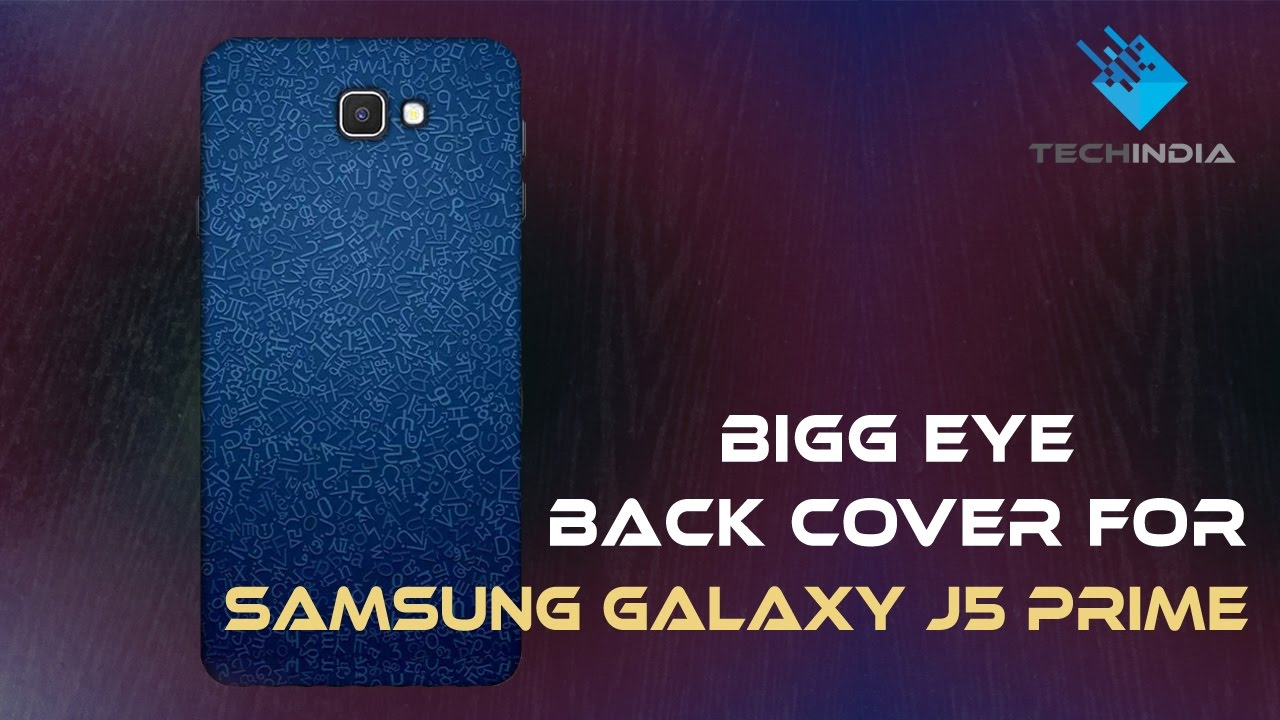 new arrival 4d919 75f45 Bigg Eye Back Cover for Samsung Galaxy J5 Prime