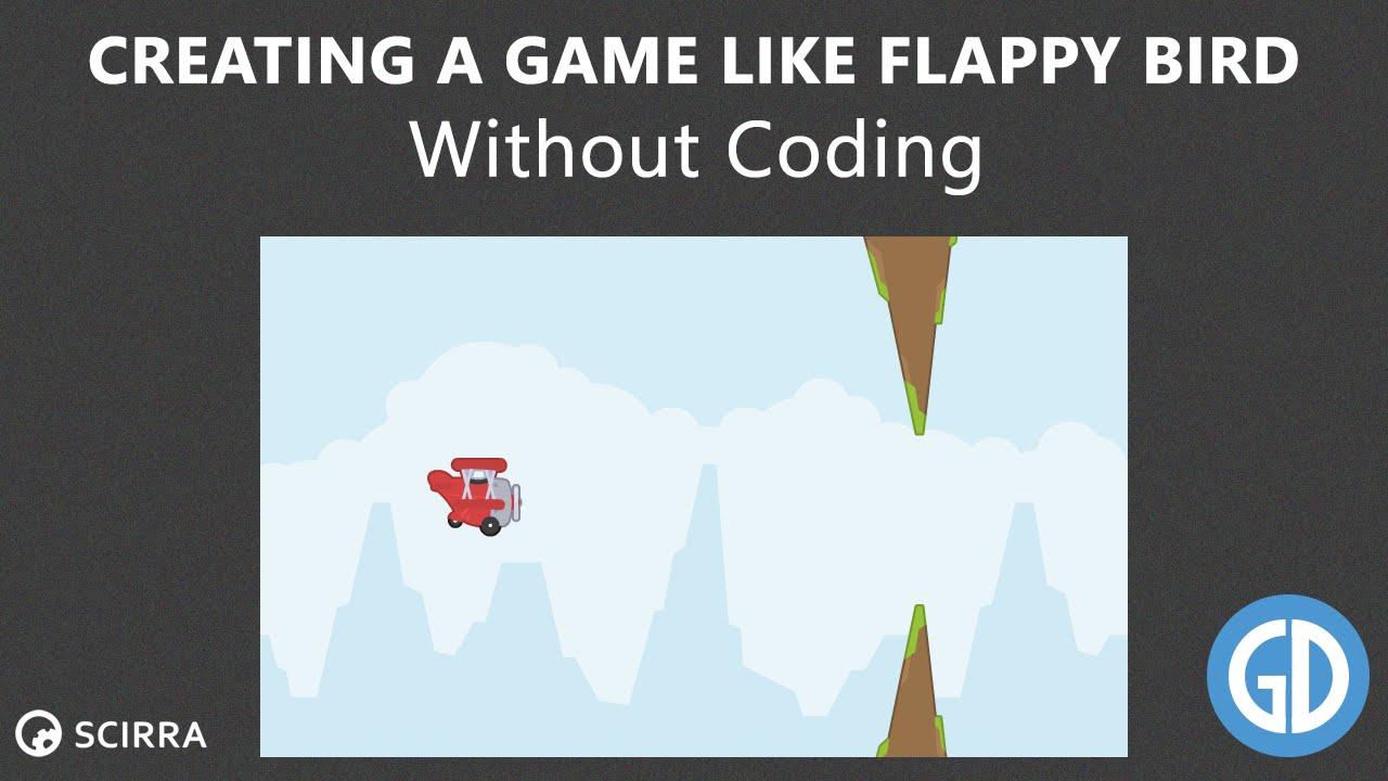 Como crear flappy bird #1 en construct 2. Construct 2 tutorial.
