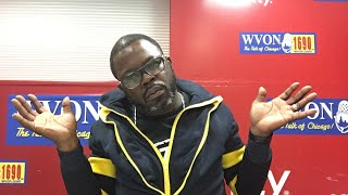 The WVON Morning Show...Time to fire Forrest?