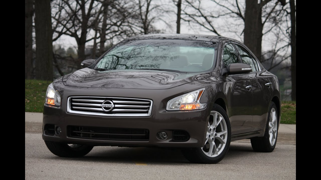 2012 nissan maxima review by automotive trends youtube vanachro Image collections