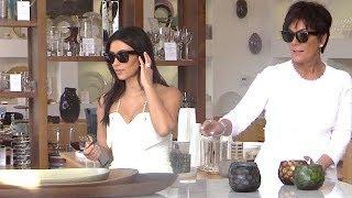 Kim Kardashian Looking Demure In White As She Shops Post-Bridal Shower [2014]