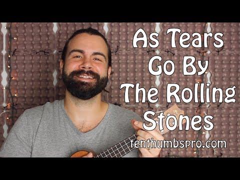 As Tears Go By - Rolling Stones - Fingerpicking Ukulele Tutorial