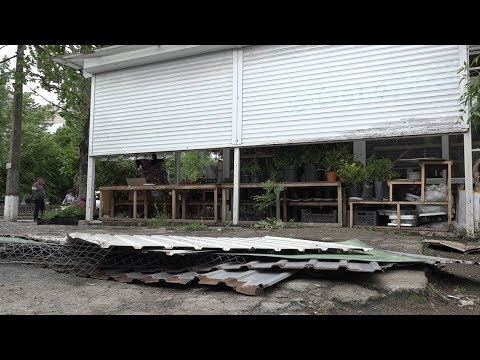 ТРК НІС-ТВ: Объектив 21 05 20 На 6й Слободской демонтировали цветочный киоск