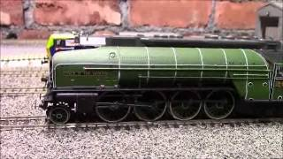 Opening the Hornby  LNER 2-8-2 P2 with  TTS sound