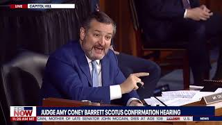 I'M GOING TO SPEAK: Ted Cruz Uses Time To TAKE DOWN Democrats During Barrett Confirmation Hearing