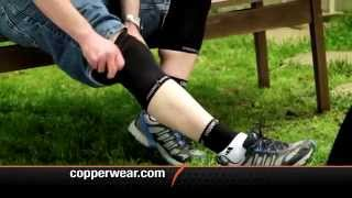 Copper Wear Compression Sleeves