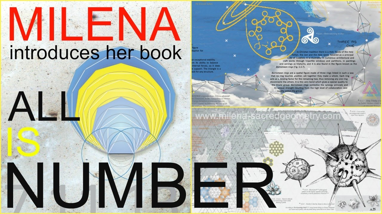 ALL IS NUMBER 3 sacred geometry milena