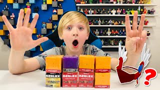 Opening BRAND NEW #ROBLOXTOYS Series 5 & Celeb. S. 3 BLIND BOXES/ DID I GET REDVALK?? + GIVEAWAY