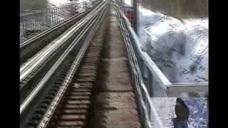 Железнодорожный мост Усть-Илимска