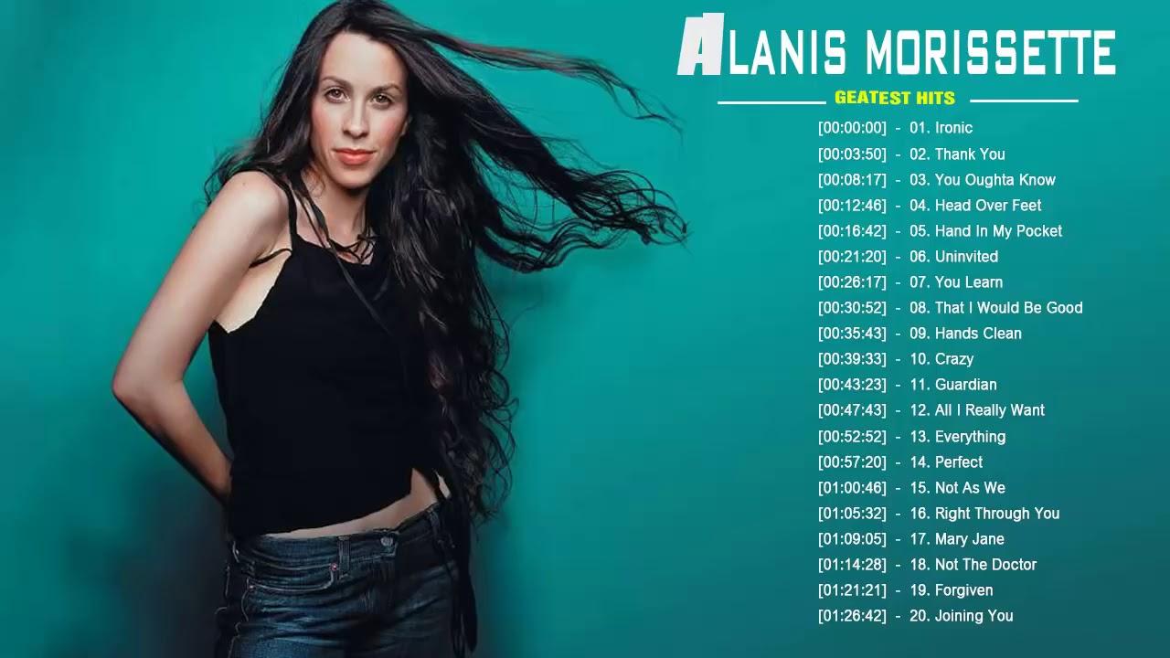 Alanis Morissette Greatest Hits Best Songs Of Alanis