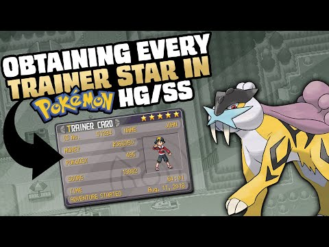 HOW EASILY CAN YOU GET A 5-STAR TRAINER CARD IN POKEMON HEARTGOLD/SOULSILVER?