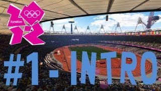 London 2012: The Official Video Game of the Olympic Games - Walkthrough Part 1 - Intro & Day 1