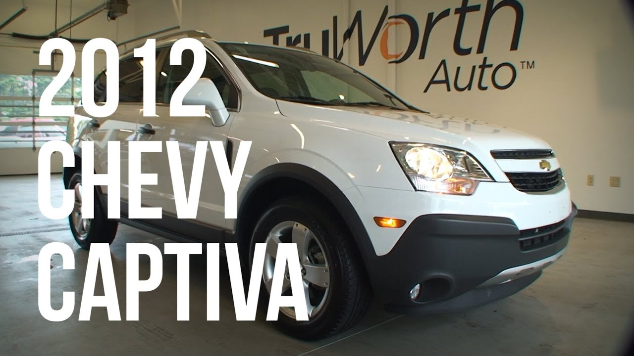 2012 Chevy Captiva Clean Carfax Usb Input Truworth Auto Youtube