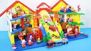 Peppa Pig Building Lego House Toys For Kids - Lego House Creations Toys #3