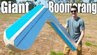 GIANT 5 Foot Boomerang