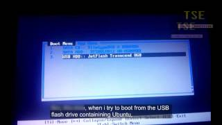 Error loading Operating system Ubuntu from USB Flash drive after installing Windows