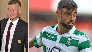 Man Utd want Bruno Fernandes to fly to England to seal transfer - despite Spurs interest- transfe...