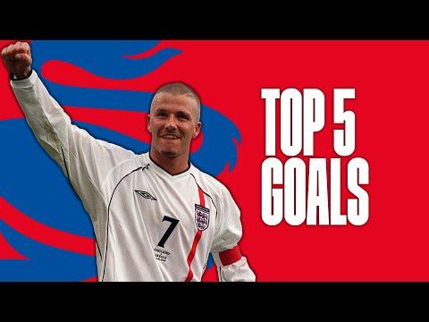David Beckham's best England goals | Top Five