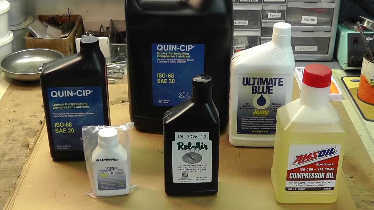 Choosing The Right Air Compressor Oil
