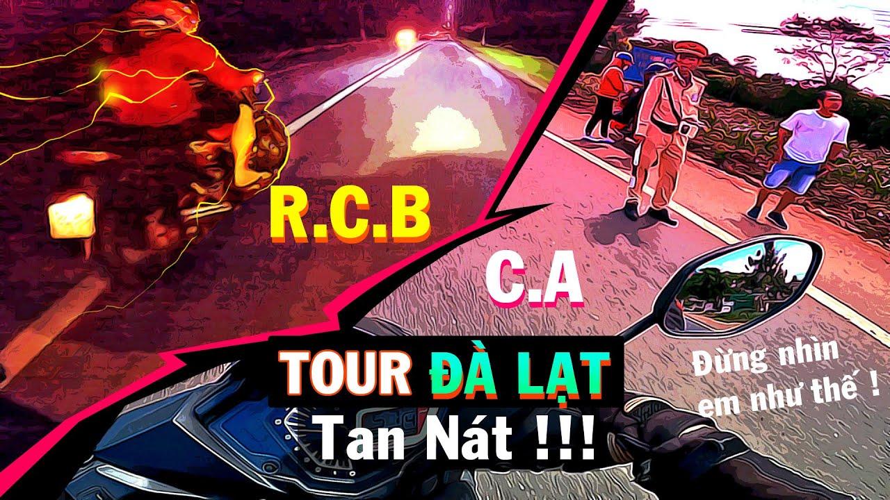 Phần Cuối|Tour Đà Lạt| Sáng Đụng C.A | Tối Đụng RCB | Tour Tan Nát|BÉ BÚT.
