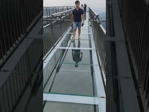 Wansheng Ordovician Theme Park Glass Bottom Walkway