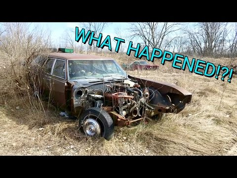 ANTIQUE ABANDONED CAR LOT!! **RARE CARS LEFT BEHIND**