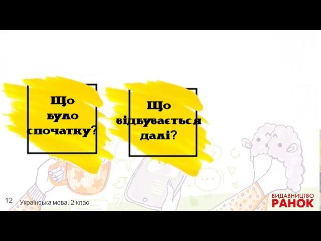 2 клас. Українська мова. Типи текстів