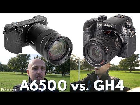 Sony A6500 vs Panasonic GH4  - Unfair Comparison. Best vLogging Camera (in 4K)