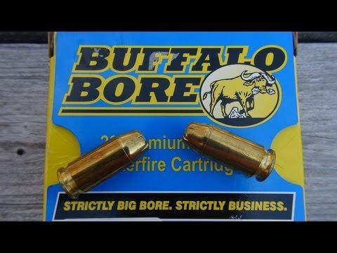 Buffalo Bore  45 ACP +P 230 gr JHP AMMO TEST