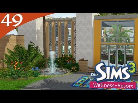 Hausbau-Reihe 3-49: Wellness-Resort [Let's Build Sims 3 Haus]