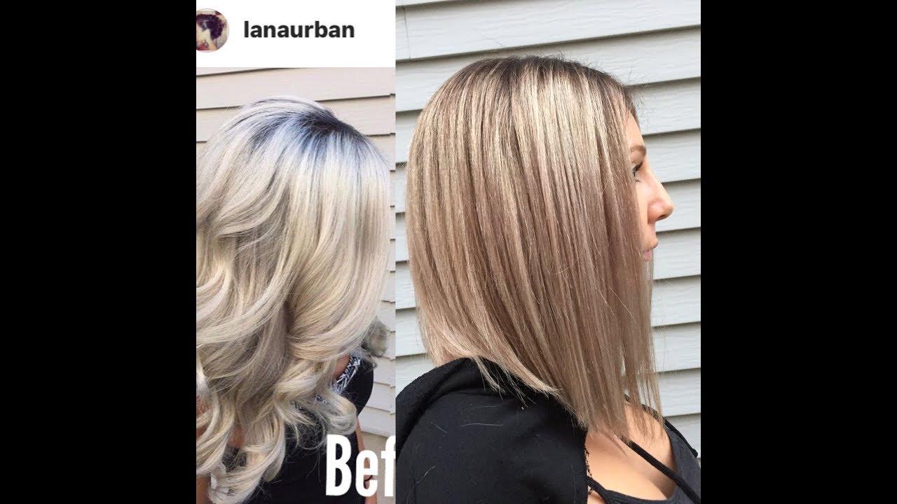comment passer de platine à un blond plus foncé