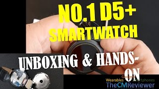 NO.1 D5+ - Review - Smartwatch 3G Android 5.1 MT6580 - Unboxing, Hands-on (Deutsch)