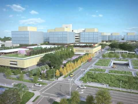 Planned expansion of Stanford Hospital