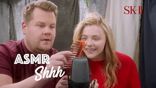 Download SK-II #BareSkinChat | EP 5: #ASMR SHHHHH feat. James Corden and Chloe Moretz Mp3 and Videos