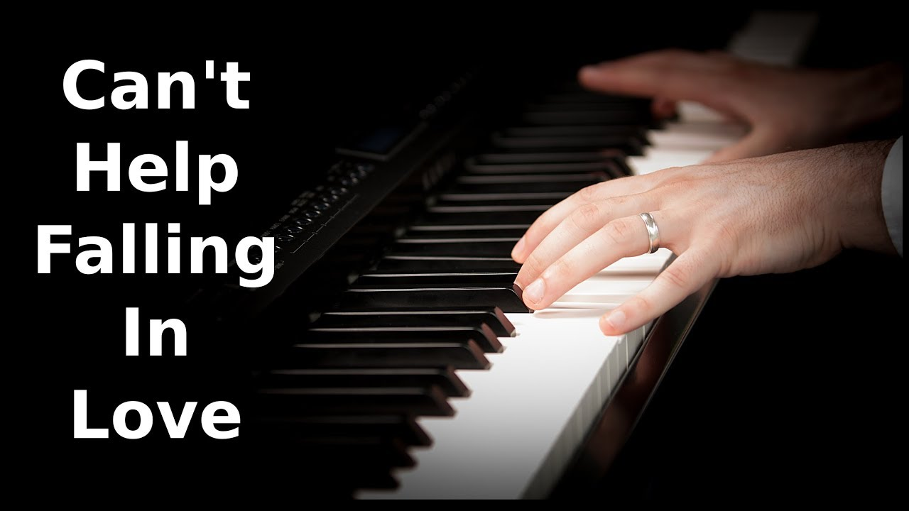 Elvis Presley Can 39 T Help Falling In Love Piano Cover