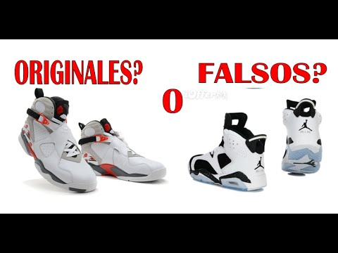 wholesale dealer 81be7 c4654 COMO SABER SI MIS TENIS JORDAN SON ORIGINALES - YouTube