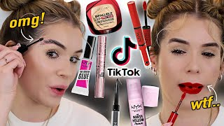 Testing SUPER VIRAL Drugstore Makeup TIKTOK Made Me Buy… SOLD OUT EVERYWHERE
