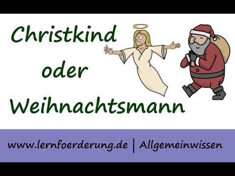 christkind oder weihnachtsmann kindgerecht erkl rt youtube. Black Bedroom Furniture Sets. Home Design Ideas