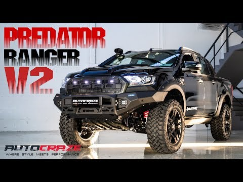 "PREDATOR FORD RANGER V2 //Rival Front Bar, Falken Tyres, Fuel Pump, 2""Lift kit"