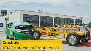 Crashtest: ADAC untersucht Frontalcrash bei drei Modellen I ADAC 2018