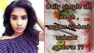 Very Simple & Easy Makeup For House Wife,office,college \Makeup in tamil\kanmani tips